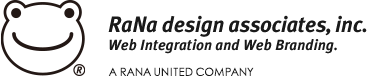 RaNa design associates, inc. Web Integration and Web Branding. RANA UNITED COMPANY